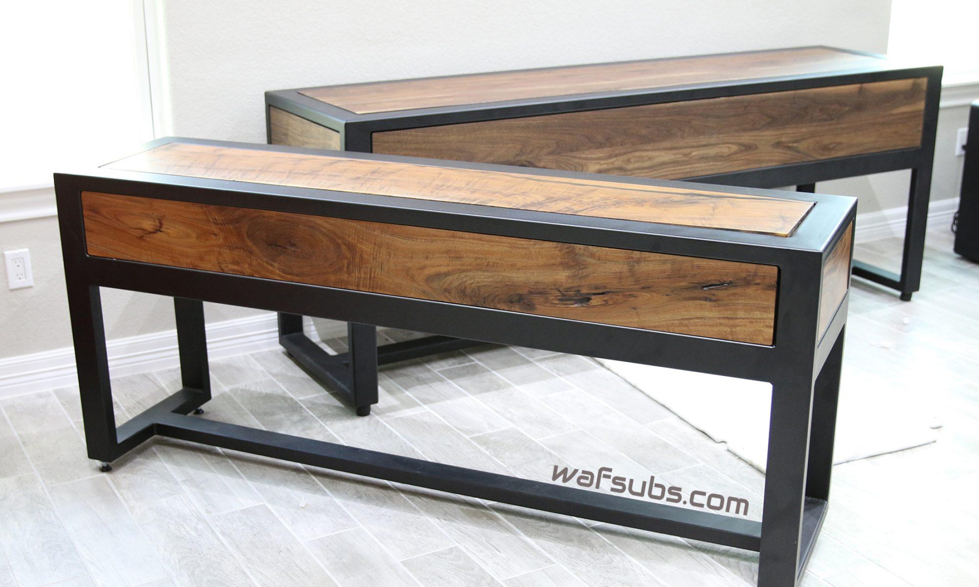 WAF Custom Subwoofer Tables